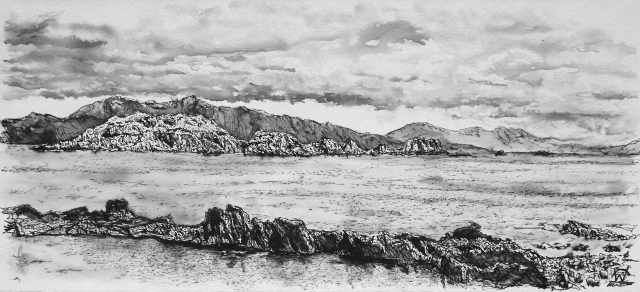 Easdale drawing