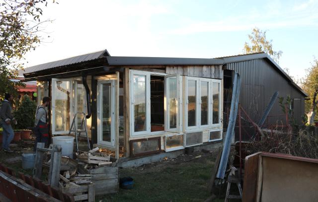 recycled greenhouse novaki side