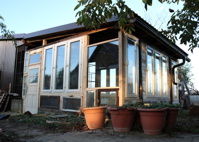 recycled greenhouse novaki